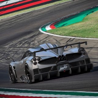 Pagani Unveils $5.4 Million Tribute To Imola Circuit