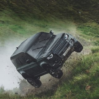 Land Rover Defender Gets Airborne In 25th Bond Film