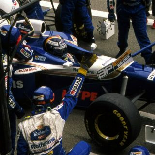 Celebrating The 'Other' Williams FW19 That Won A World Championship