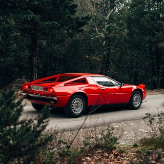 The Maserati Merak SS Is A Mid-Engined Italian With More Than A Few Bits Of France In Its DNA