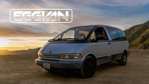 1991 Toyota Previa: The Eggvan