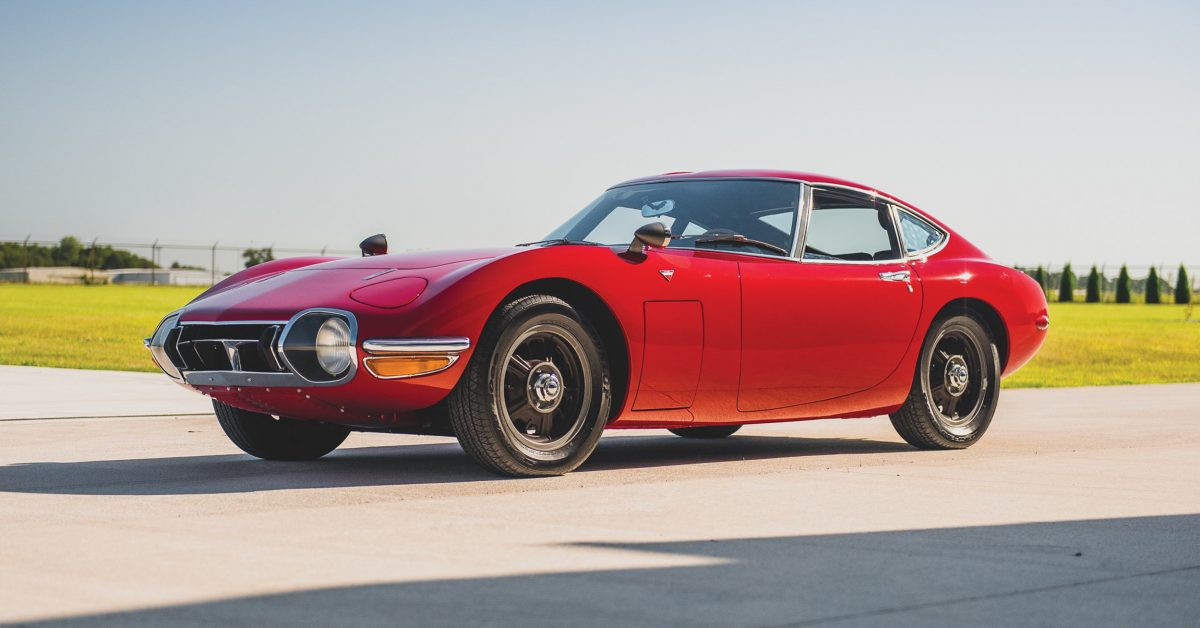One Of 62 Toyota 2000GTs Heads To Auction
