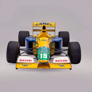 28 Years Ago, This Car Secured Michael Schumacher's First Formula 1 Podium