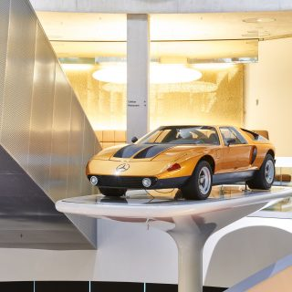 50 Years Ago This Week, The Mercedes C 111-II Debuted At Geneva