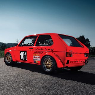 First VW Golf Mk1 Race Car Goes Up For Auction
