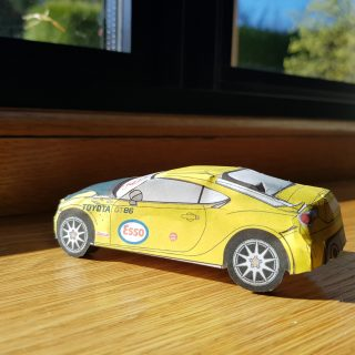 Toyota Kills The Boredom With Paper 86 Models To Make At Home