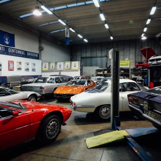 Visiting Candini Classiche, A Multi-Generational Maserati Workshop In Modena