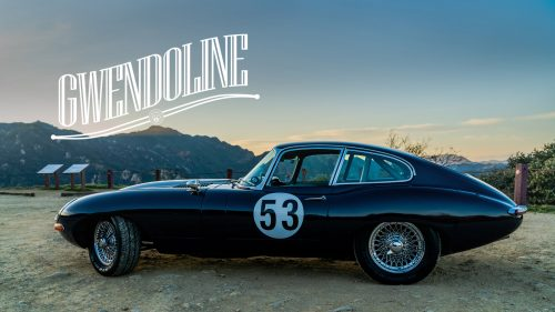 Modified Jaguar E-Type Coupe: Gwendoline