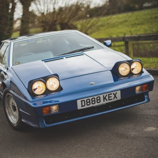 'Holy Grail' Lotus Esprit Turbo Up For Auction