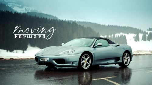 2004 Ferrari 360 Spider: Moving Forward