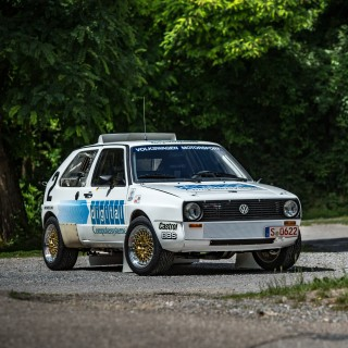 This Was Volkswagen's First (And Second) Twin-Engined Volkswagen Golf To Take On Pikes Peak