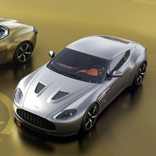 Here's Our First Look At The Aston Martin Vantage V12 Zagato 'Heritage Twins,' To Be Hand-Built In England