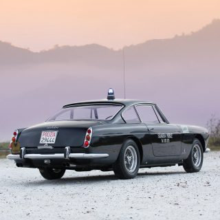 You Can Now Own This 1962 Ferrari 250 GTE 2+2 Police Car