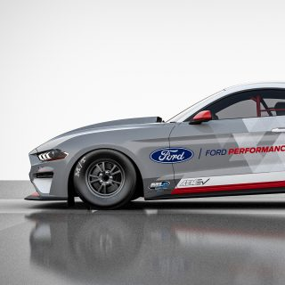 Ford Debuts All-Electric Mustang Cobra Jet 1400 Drag Car