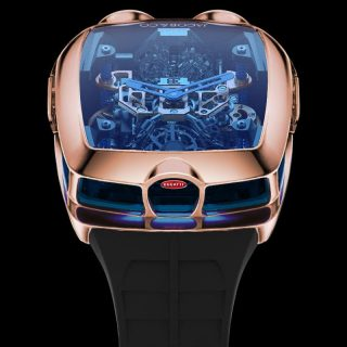 This Bugatti Watch Features An Actual Working W16 Engine
