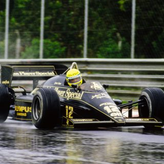 35 Years Ago Today, Ayrton Senna Took His First F1 Win