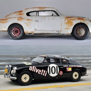 The 'Most Famous Lancia In The World' Is Being Restored
