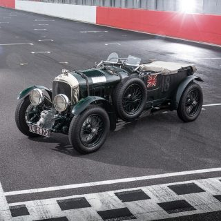 Bentley Digitally Scans Blower For Upcoming Recreations