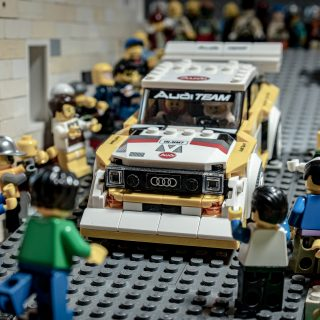 Meet The Man Who Turned Group B Quattro Photos Into LEGO