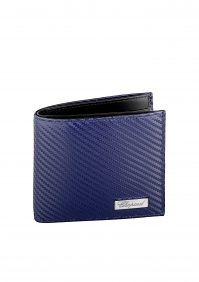 Classic Racing Small Wallet- Blue