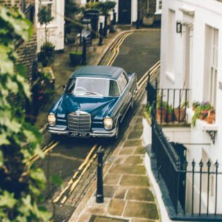 Finding The Softer Side Of German Engineering With A Mercedes-Benz W111 Coupe In Hampstead
