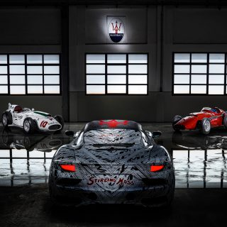 Maserati Pays Tribute To Sir Stirling Moss With Special MC20 Livery