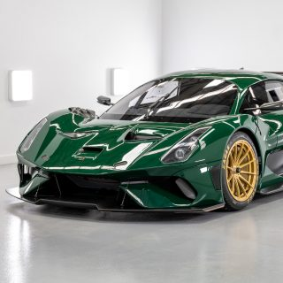 The First Brabham BT62 Is Ready To Race!