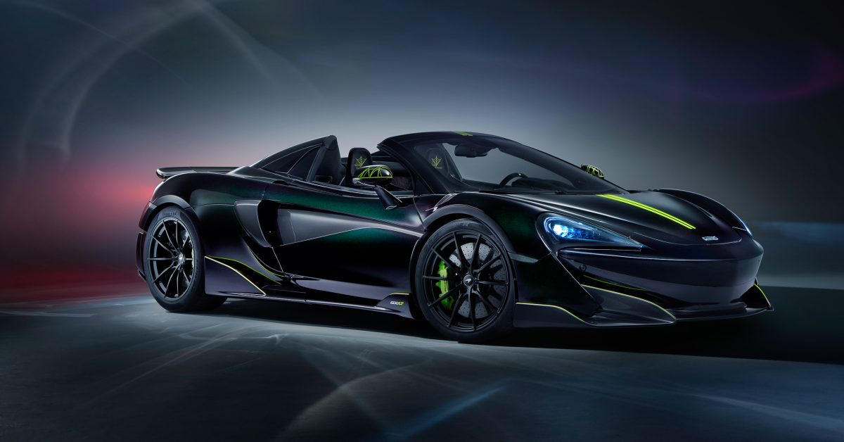 photo of McLaren Releases Final 600LT Spider Based On A Real Spider image