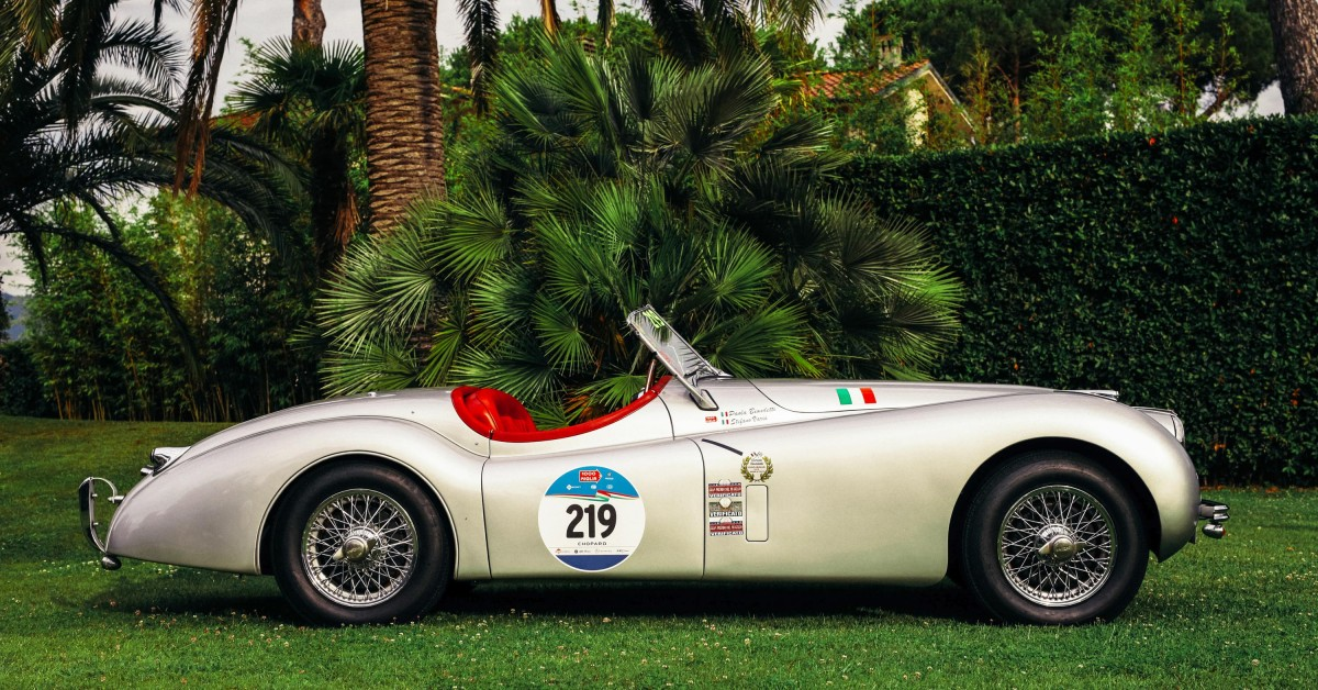 photo of This Jaguar XK120 OTS Is Keeping The Spirit Of Clemente Biondetti Alive At The Mille Miglia image