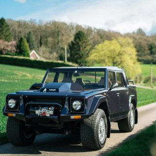 Own A Fully Restored Lamborghini LM002 Once Driven By The Stig