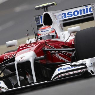 Want To Own The Last Toyota Raced In Formula 1?