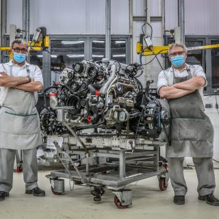 Production On Bentley's 6.75-Litre V8 Is Done After 61 Years