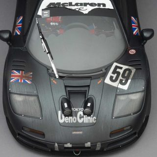 'Race Weathered' Le Mans-Winning McLaren F1 GTR Scale Model In The Works