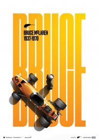 McLaren Papaya – Bruce McLaren special – Spa-Francorchamps Circuit – 1968 | Collector's Edition