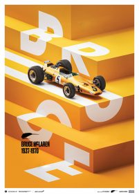 McLaren Papaya – Bruce McLaren special – Spa-Francorchamps Circuit – 1968 | Limited Edition