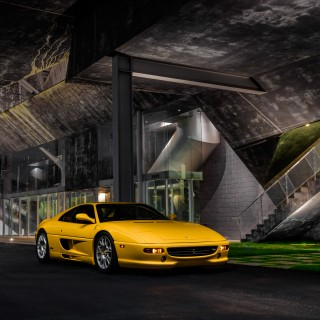 This Multitalented Ferrari F355 Berlinetta Is Prepped For The Track And The Streets Of DTLA