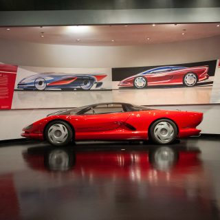 Museum Show Highlights Corvette's Mid-Engined History