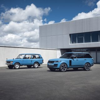 Range Rover Celebrates 50 years With The Heritage Edition