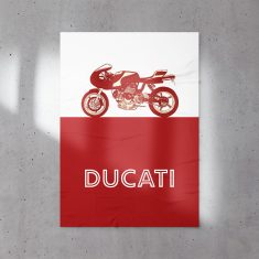 Ducati Cafe Racer Motorcycle