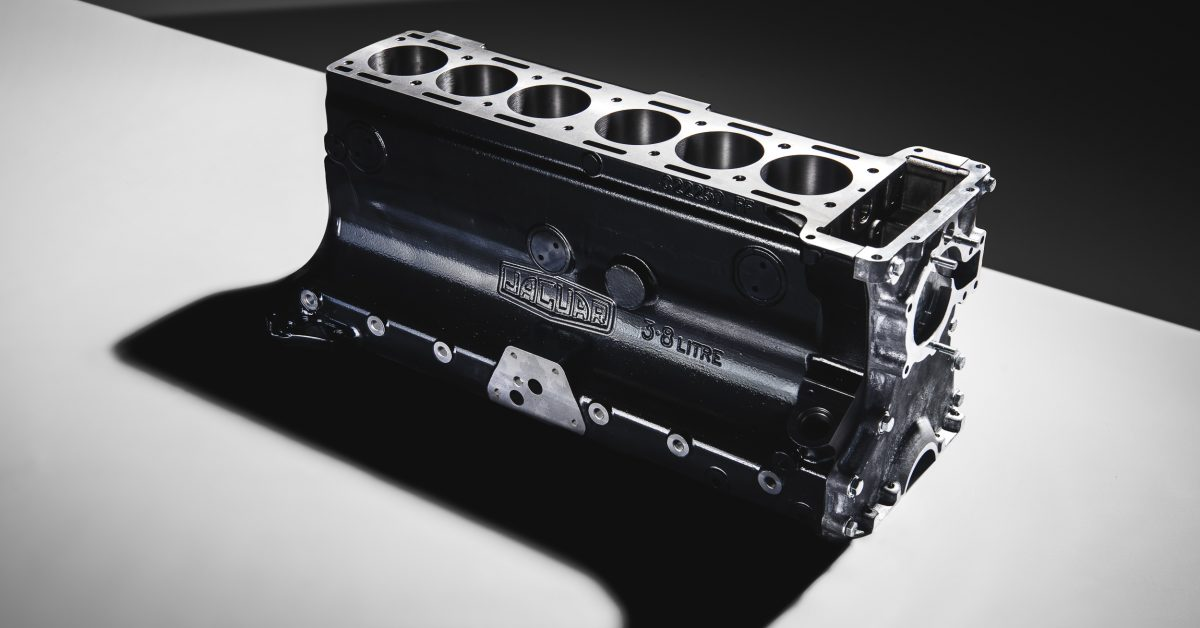 photo of Jaguar Classic Re-Introduces 3.8-Litre Engine Block image
