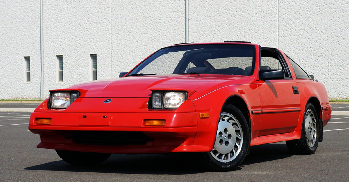 photo of This Nissan 300ZX Turbo Is An Angular 8-Bit-Era Dream Car You Can Buy Right Now image