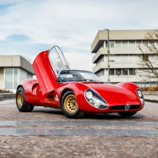 The Beauty Of The Alfa Romeo Tipo 33 Stradale Is More Than Skin Deep