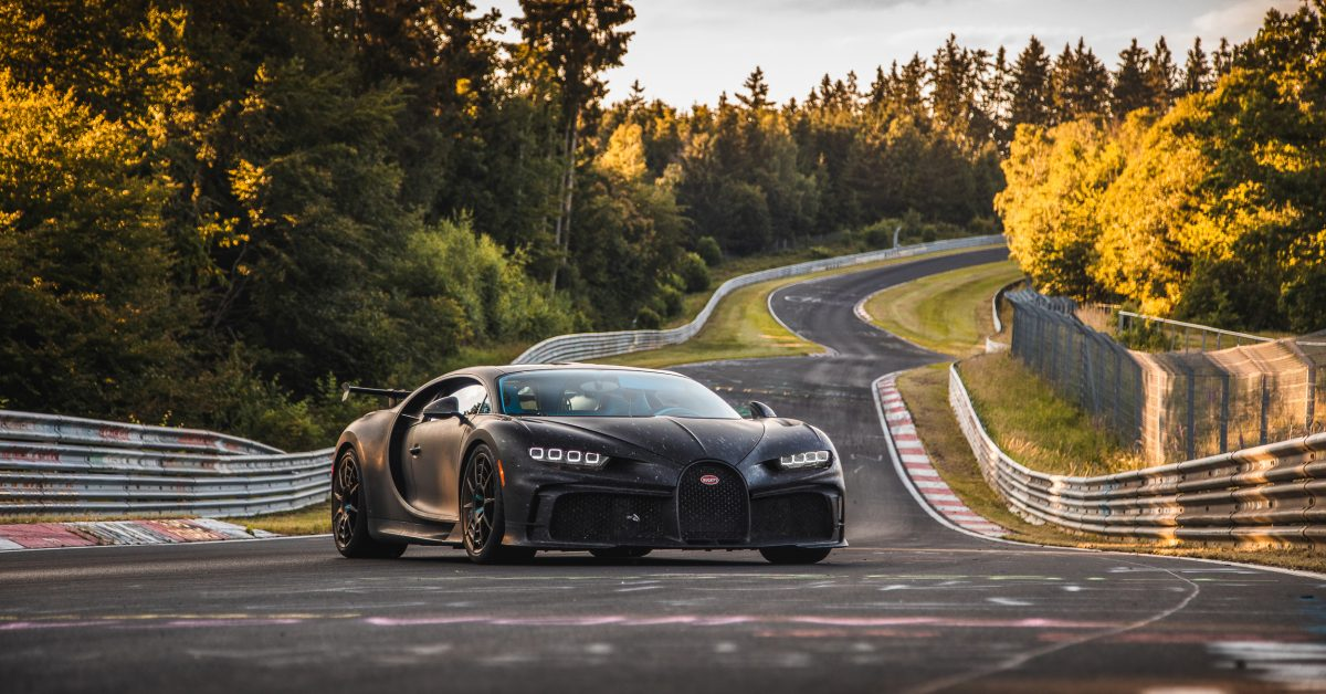 Bugatti Chiron Pur Sport Hits The Nürburgring
