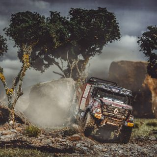This Is How You Shoot The Dakar Rally In Miniature