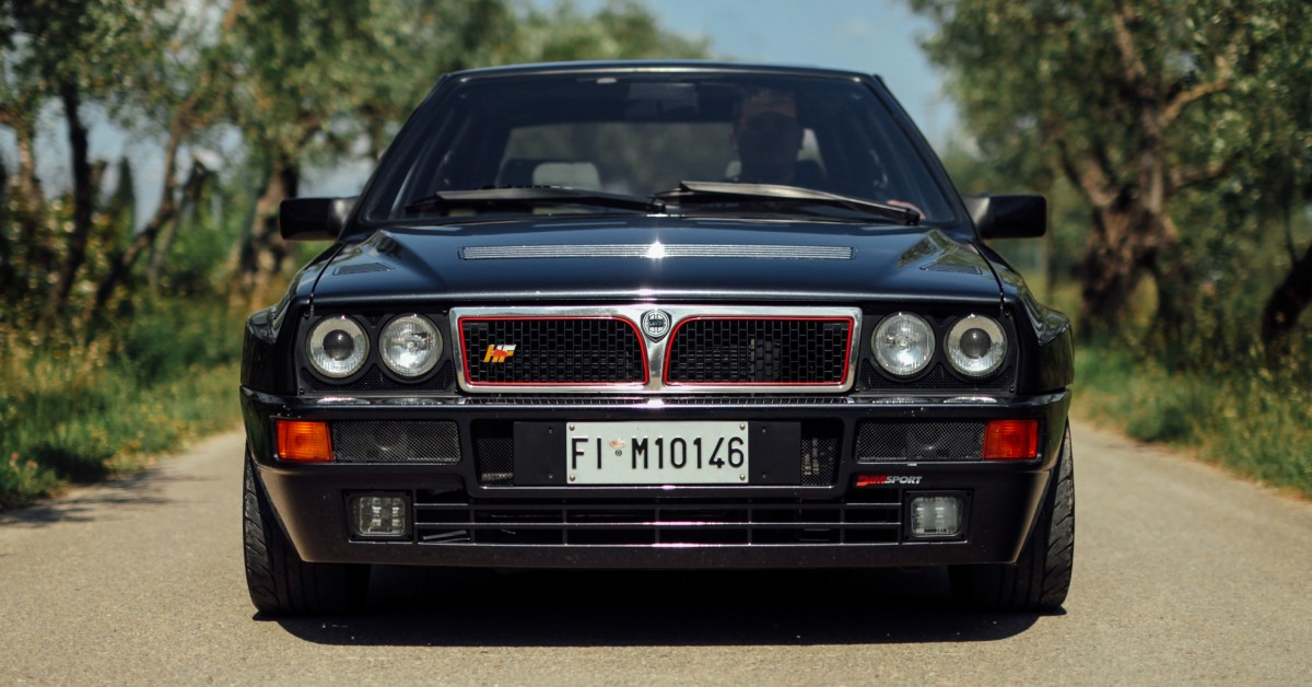 Group A On The B-Roads: Reliving Lancia's Rallying Legacy In A Delta HF Integrale Evoluzione