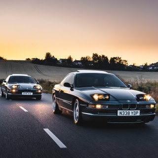 Runs In The Family: A Father And Son Own This Pair Of BMW E31 8-Series