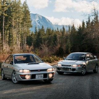 A Subaru Impreza WRX, Mitsubishi Lancer Evo II, And The Lasting Impact Of The JDM Takeover Of The WRC