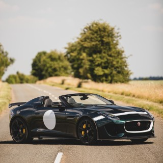 Finding A Place For A Modern Homage, In A Jaguar F-Type Project 7