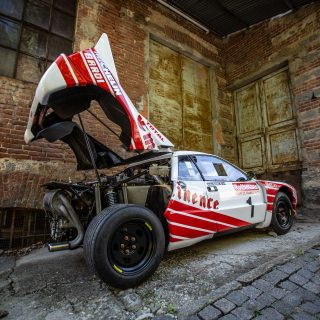 After Three Decades Of Hibernation, This Group B Lancia 037 Is Ready To Get Back To Work