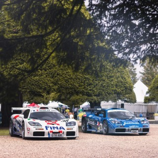 A McLaren Pairing: Two F1 GTRs Came To Hampton Court To Celebrate The Model's Le Mans Legacy